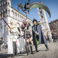 Cosplayer Lucca Comics & Games